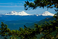 Three Sisters mountains, Oregon Cascades